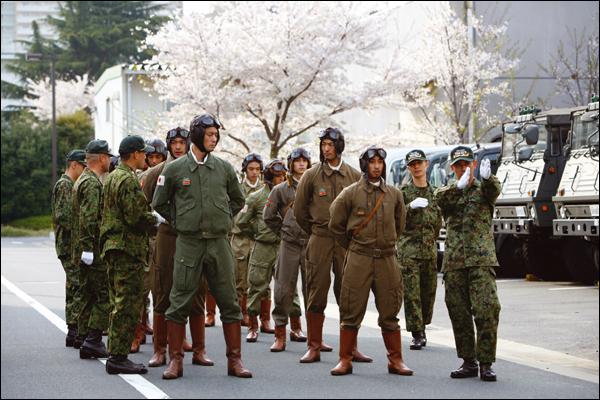 kamikaze assaut dans le pacifique